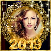 Khung ảnh năm mới 2019 Lời chúc mừng chúc mừng Mod & Hack For Android