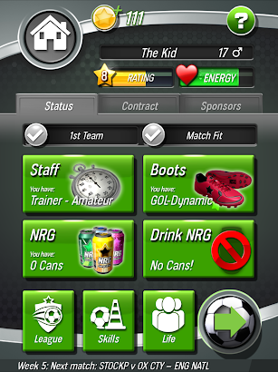 New Star Soccer screenshot for Android