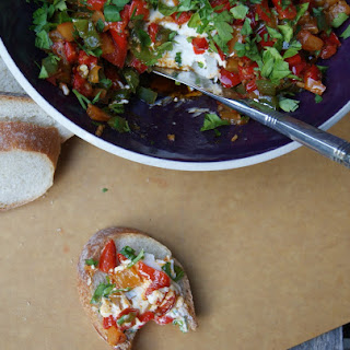 Spicy Pepper Goat Cheese Spread
