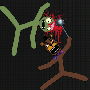 Stickman Warriors Zombie Fnaf - náhled