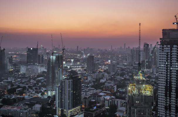 Tramonto a Bangkok di PaolaPlinia
