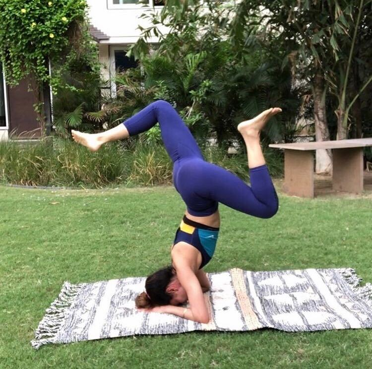 payal rohatgi yoga pose