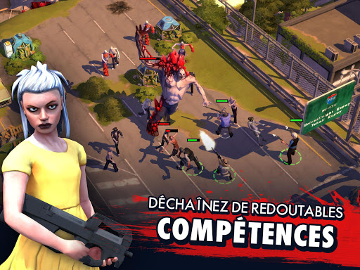 Code Triche Zombie Anarchy: Survival Strategy Game APK MOD screenshots 4