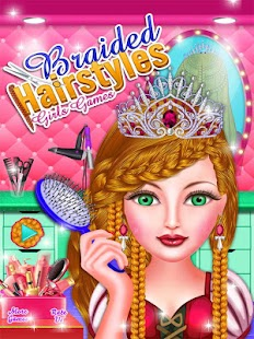 Hairstyles Games barbie games to play Braided Hairstyles Girls Games Screenshot Thumbnail