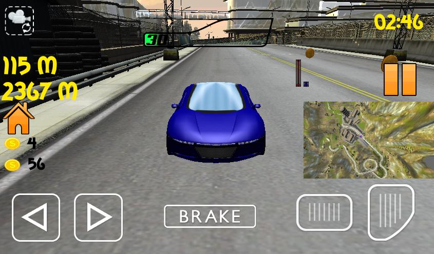 play turbo racing car game