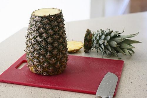 kerajinan makanan dari buah nanas