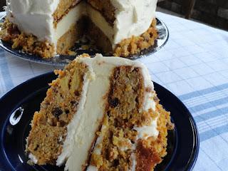 Skyscraper Carrot Cake/cheesecake Recipe
