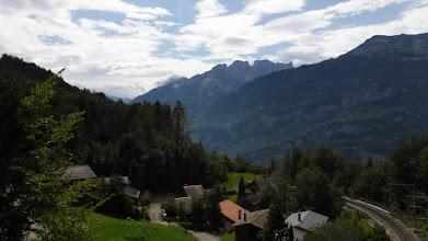 Photo: Kilátás az Aare völgyére a Brünig hágóról