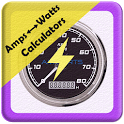 Amps to Watts Calculator icon