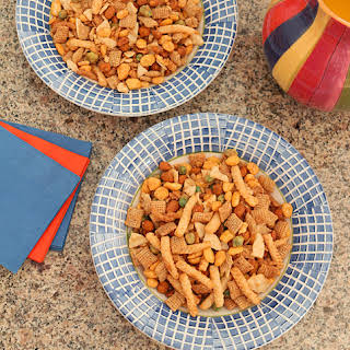 Sriracha Crunch Chex Mix.