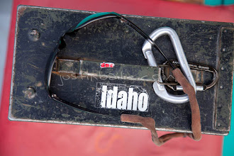 Photo: Ammo can with Idaho sticker. Hell's Canyon of the Snake River, ID / OR.