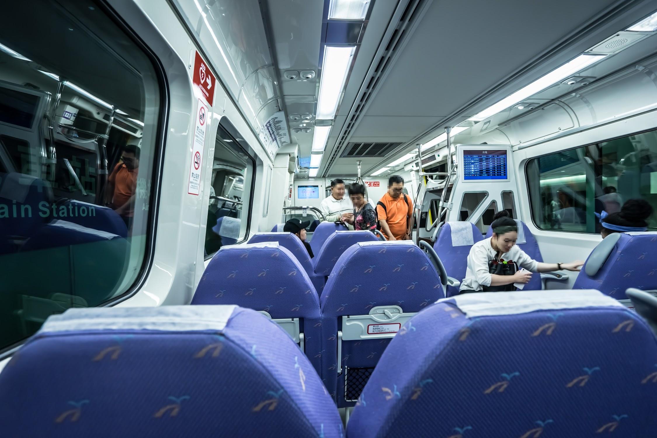 桃園国際空港MRT2