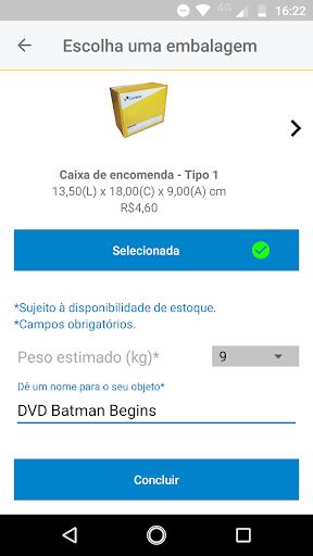 Correios screenshot 7