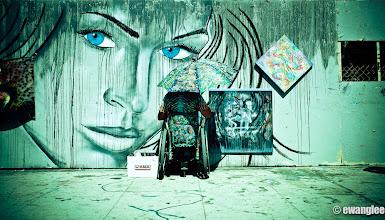Photo: The painter