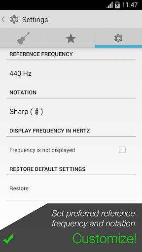 Pro Guitar Tuner 3.1.3 screenshots 5