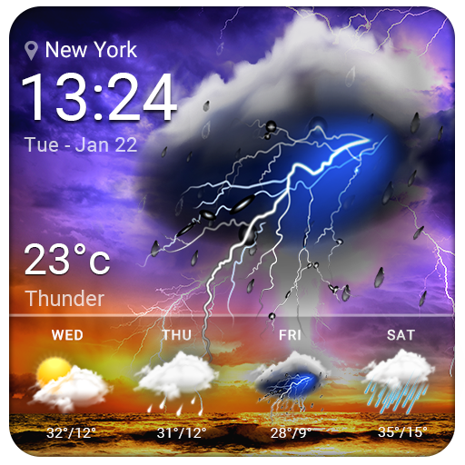 Live Weather & Daily Local Weather Forecast file APK for Gaming PC/PS3/PS4 Smart TV