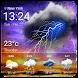 今日明日天気 今週の天気 日本天気情報 ウィジェット 無料 - Androidアプリ