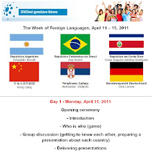Photo: The Week of Foreign Languages, April 11 – 15, 2011.
