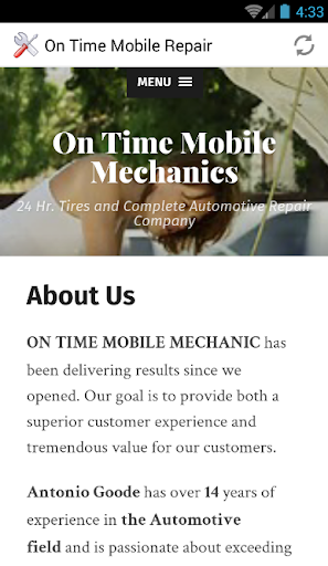 免費下載遊戲APP|ON TIME MOBILE MECHANIC LLC app開箱文|APP開箱王