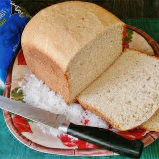 Gluten Free High-Protein Coconut Flour Breadmaker Bread Recipe