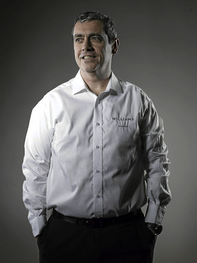 Graeme Hackland, group chief information officer of Williams. Picture: WILLIAMS F1