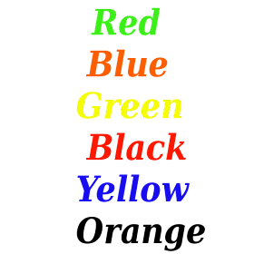 What's text color?