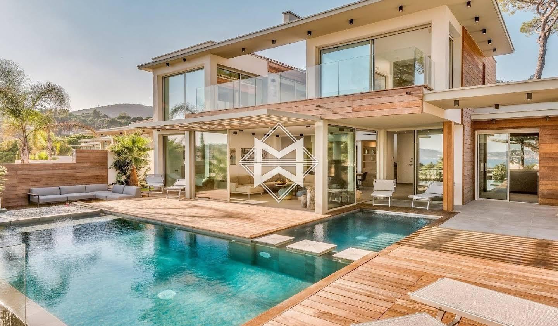 Villa with pool and garden Sainte-Maxime