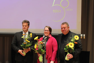 Photo: Liittohallitukseen vuosiksi 2016-2018 valittiin Ahti Kuikka, Minna Joensuu ja Timo Tarvainen.