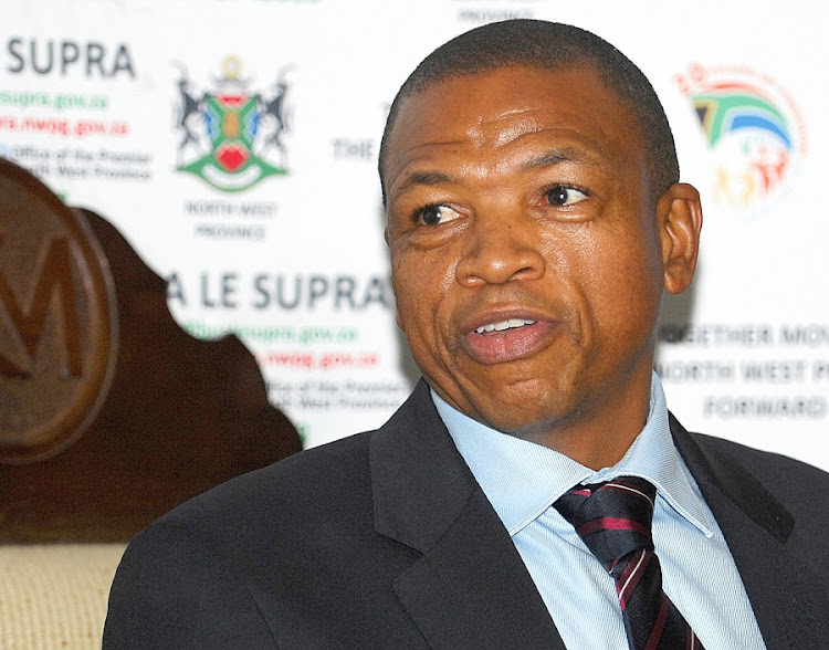 Former North West premier Supra Mahumapelo has dismissed EFF leader Julius Malema's claims at 'cheap political propaganda'. Picture: PUXLEY MAKGATHO