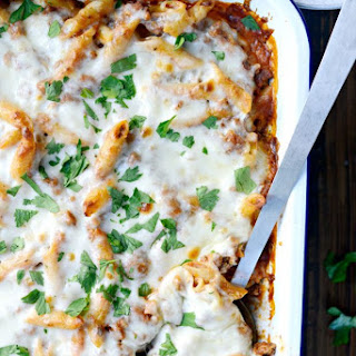 Mostaccioli With Ground Beef Recipes