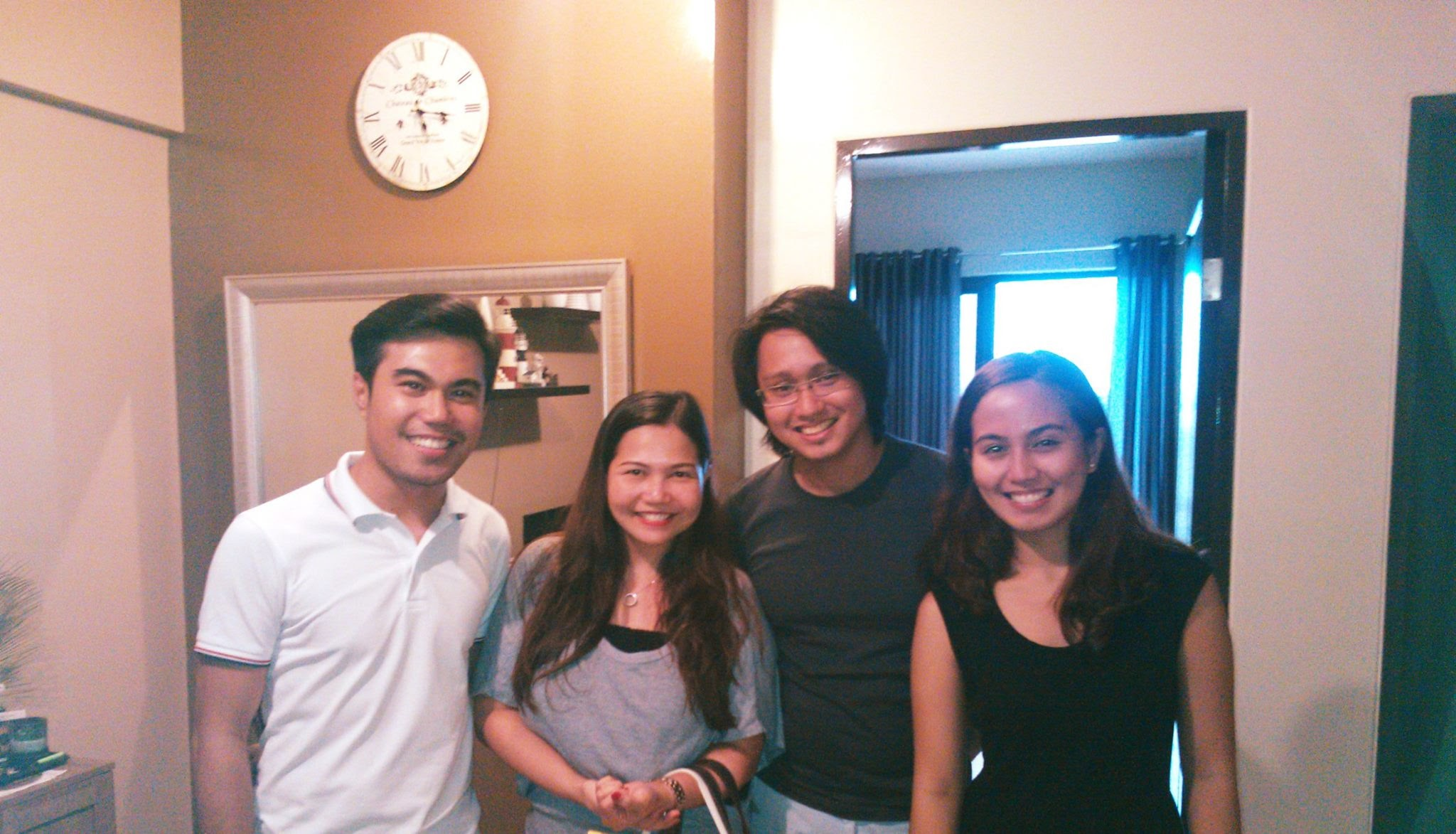 My clients since 2012. Sir Ramil, Sir Felix and Ms. Catherine.