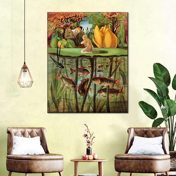 Thumbkinetta Canvas Wall Art