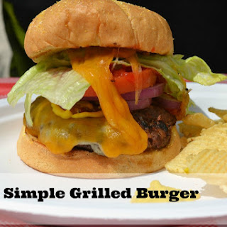 Easy Grilled Cheeseburger