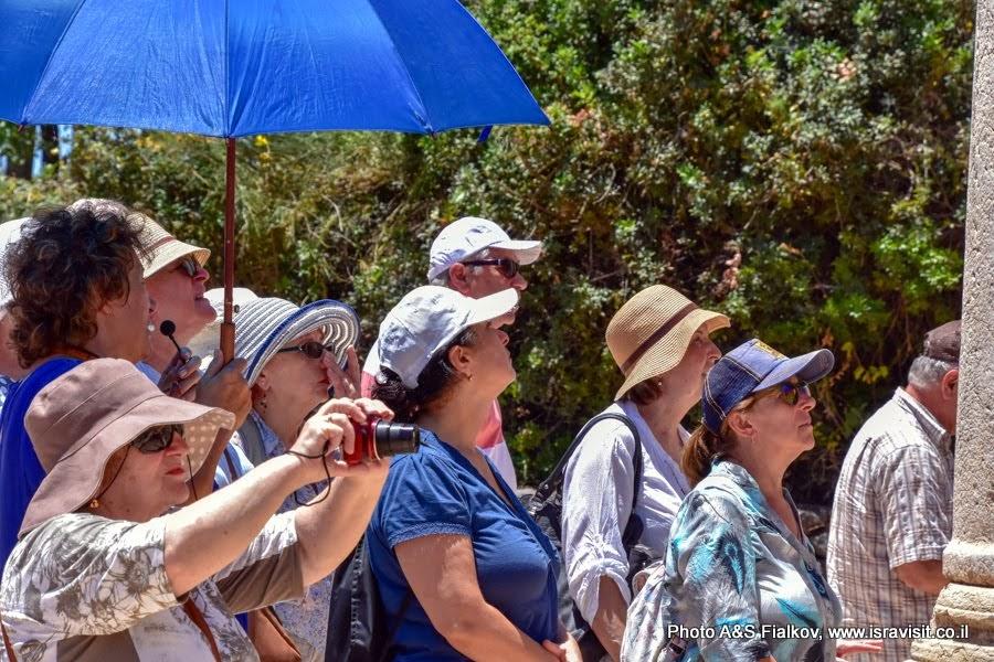 Экскурсия в Верхней Галилее.