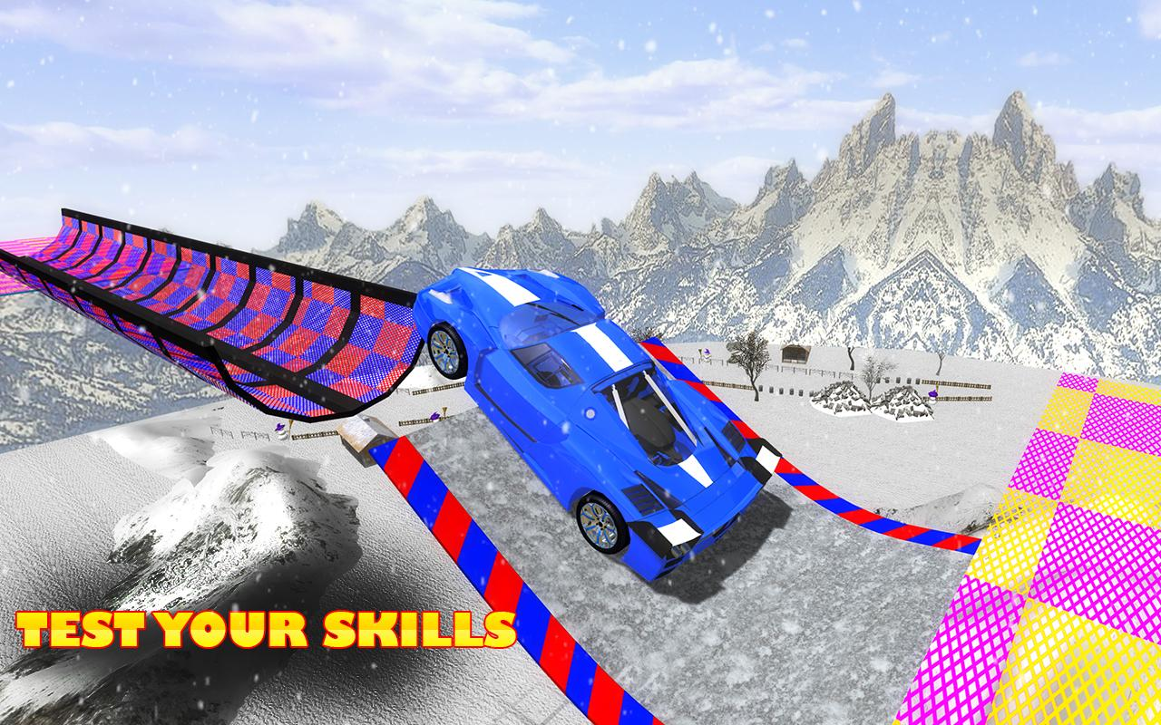 Extreme Stunts GT Racing Car- screenshot