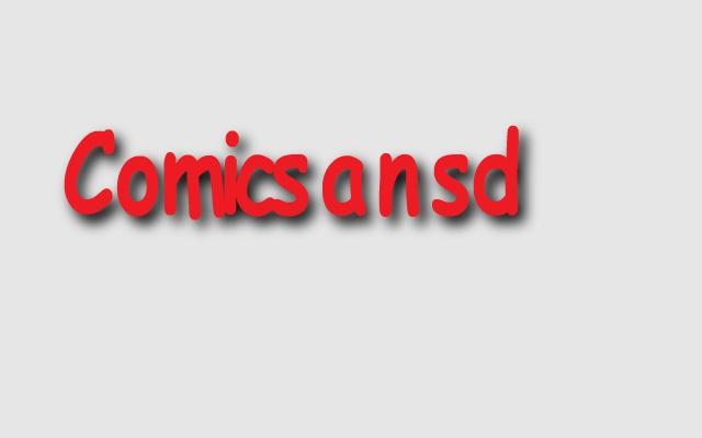 Comicsansd