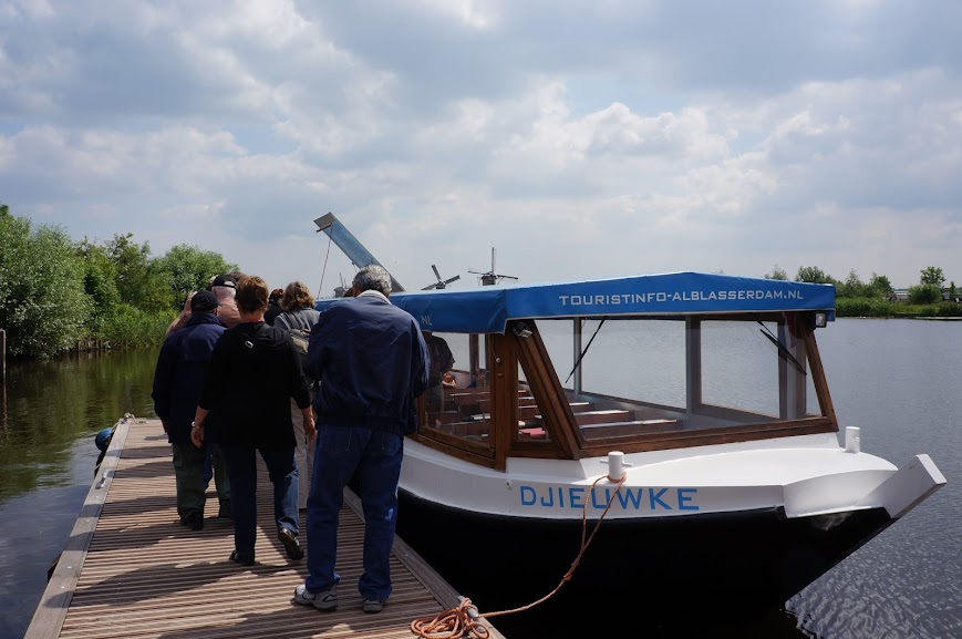 Cruise to view the mills in Kinderdijk, Holland (2014)