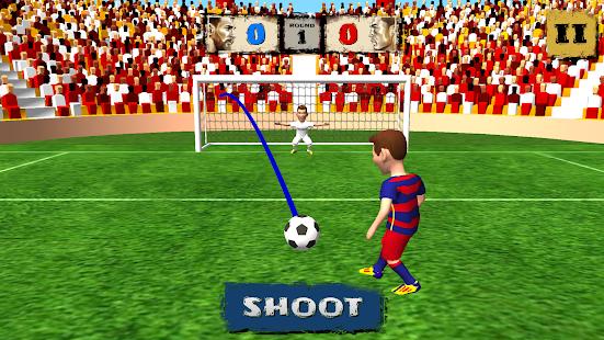 Soccer Duel Ekran Görüntüsü