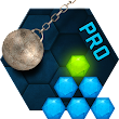 Hexasmash Pro - Wrecking Ball Physics Puzzle icon