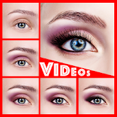 Eyes Makeup Step By Step ( Videos )