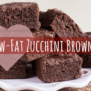 Low Fat Chocolate Zucchini Brownies Recipes