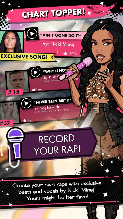 NICKI MINAJ: THE EMPIRE- screenshot