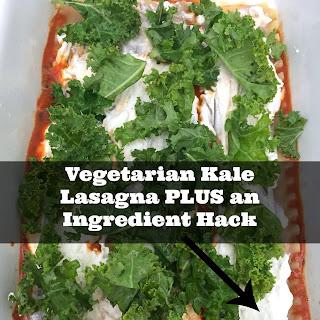 Vegetarian Kale Lasagna Plus an Ingredient Hack
