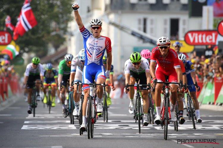 Zware valpartij ontsiert 10e rit, maar Démare houdt Deceuninck-Quick.Step van eerste ritzege in Giro
