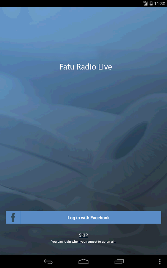 Fatu Radio Live- screenshot
