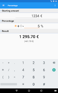 MajoReduc - Percentages Calculator & Sales- screenshot thumbnail
