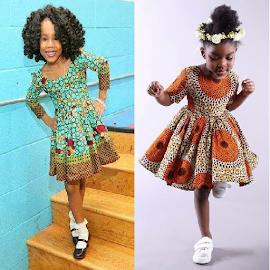 Kids Ank Short Dress Styles.
