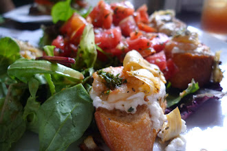 Photo: Goat Cheese & Shrimp Bruschetta