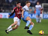 Calabria s'est fracturé le péroné contre la Lazio de Rome