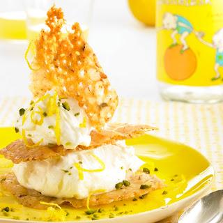 Zitronencreme mit Krokanttalern